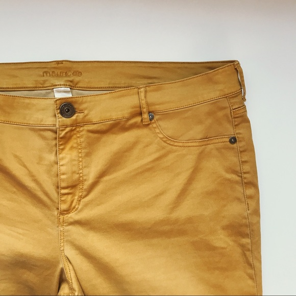 21eaca57eed Maurices Pants - Mustard Maurices Jeggings